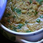 Minestra di broccolo e quinoa