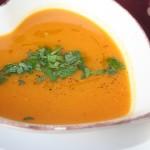 Crema di zucca al curry