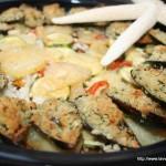Taieddrha riso, patate e cozze (e zucchine)