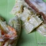Raviole del plin fighe