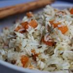 Insalata di riso basmati con zucca alle spezie