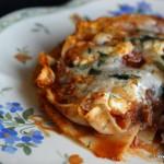 Lasagne castrate con ricotta e finocchietto