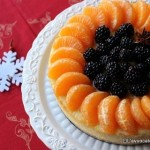 Cheese cake con clementine e more