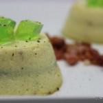 Tortino freddo di zucchine con speck e gelatina alla menta