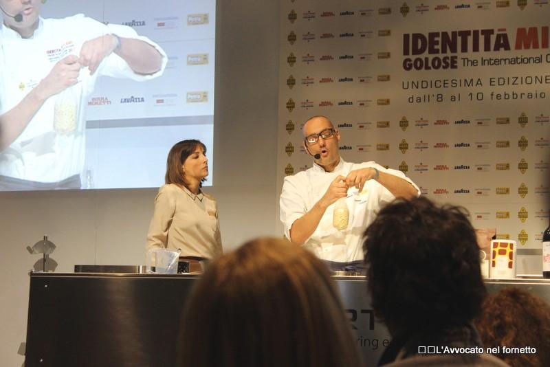 Simone Salvini a Identità Golose