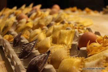 Lo stand della Surgital pasta fresca surgelata