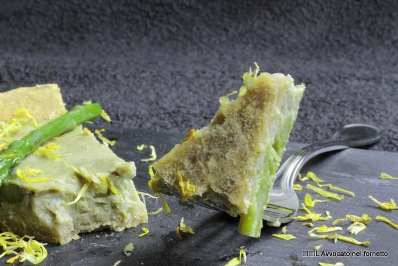 Crostata di asparagi e carciofi
