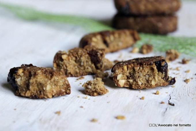 Biscotti integrali all'olio (non di palma)