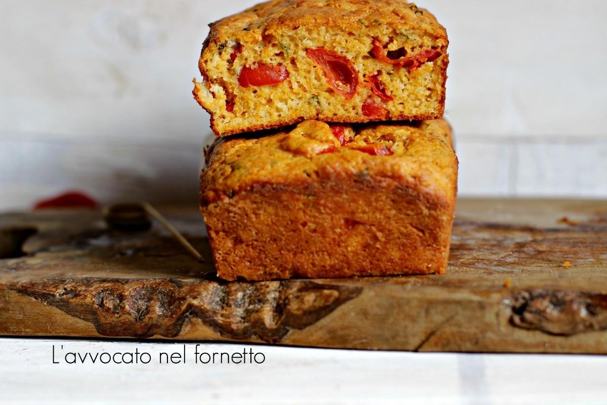 cake ai pomodorini confit