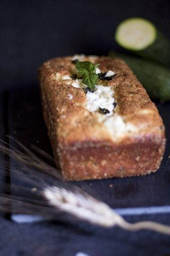 cake zucchine e feta