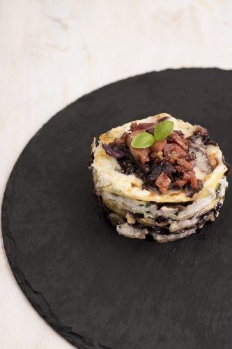 lasagne con ricotta e radicchio